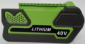 Replacement for Greenworks 40V 5Ah Lithium Battery Pack